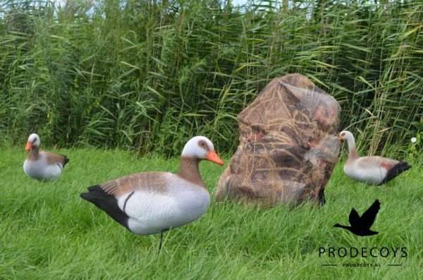 Egyptian goose  foamies decoys camouflage decoy mesh bag XL