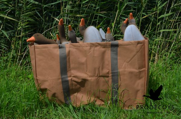 6-slot decoy bag XL goose decoys
