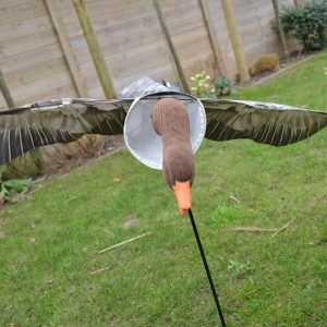 Goose flapper decoy windsock