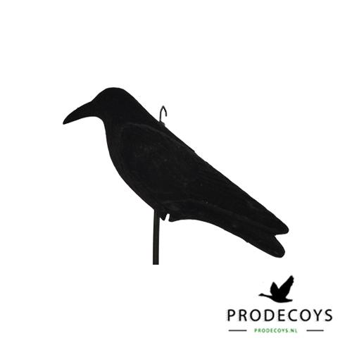 crow decoy full body flocked
