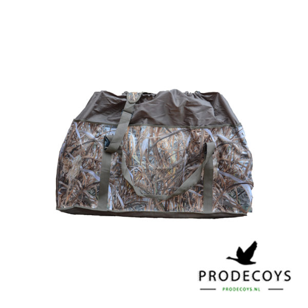12-slot camouflage decoy bag closed top
